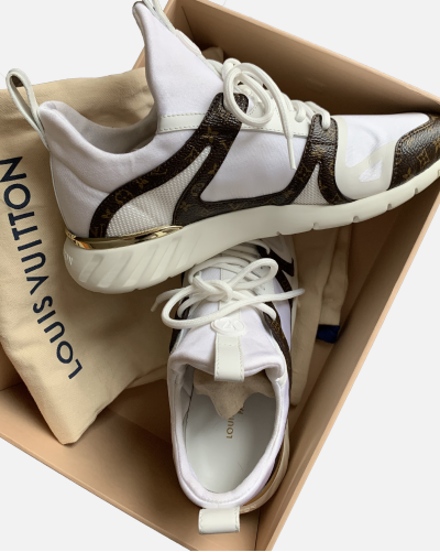Louis Vuitton Aftergame sneakers white