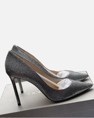 Jimmy Choo Romy 100 heels