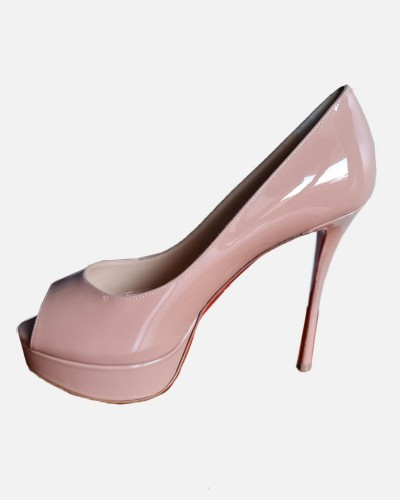 Christian Louboutin pink heels
