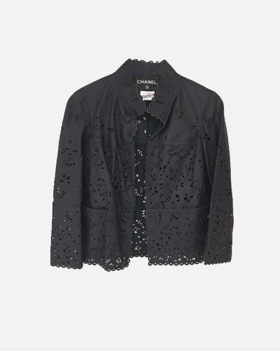 Chanel kurtka skórzana