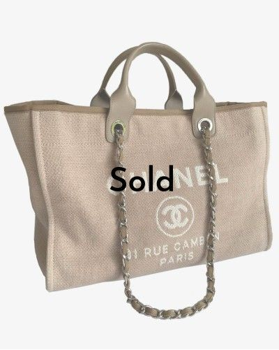 Chanel Deauville Tote large...