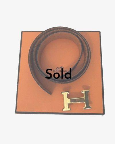 Hermès Constance belt