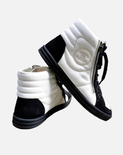 Chanel sneakersy za kostkę