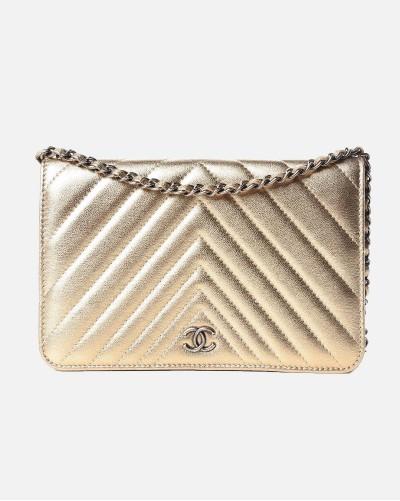 Chanel Metallic Lambskin...