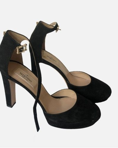Saint Laurent sandały na obcasie
