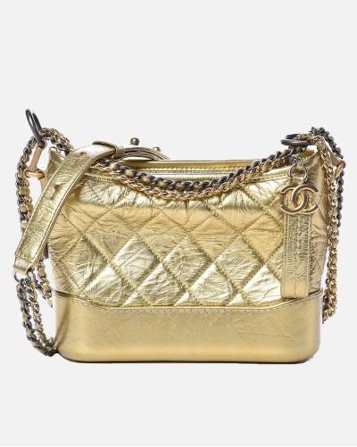 Chanel Gabrielle gold small