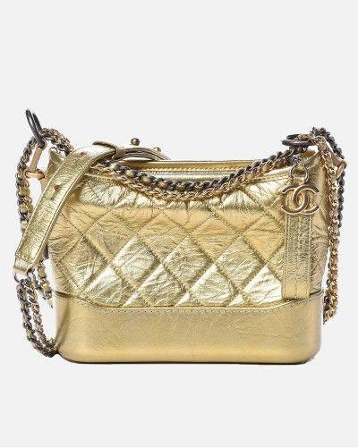 Chanel Gabrielle gold small...