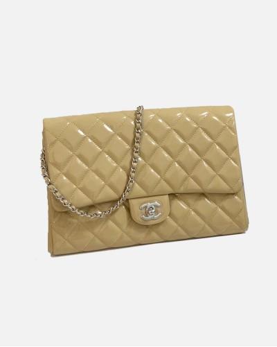 Chanel torebka beżowa