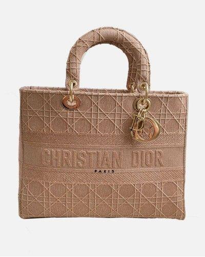 Large Dior Lady D-lite bag