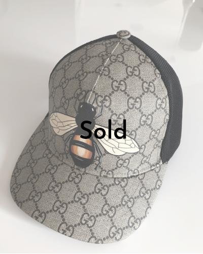 Gucci czapka z daszkiem