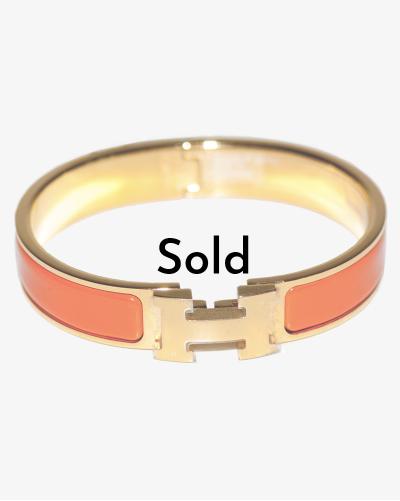 Hermès Click H bracelet